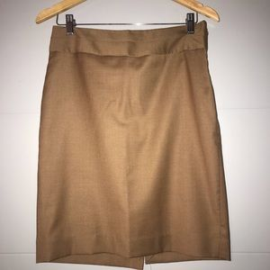 Limited Collection Camel Suit Skirt Size 6